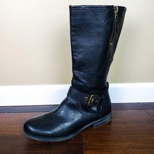 NATURALIZER N5 Comfort Balada Mid-Calf Moto Boots